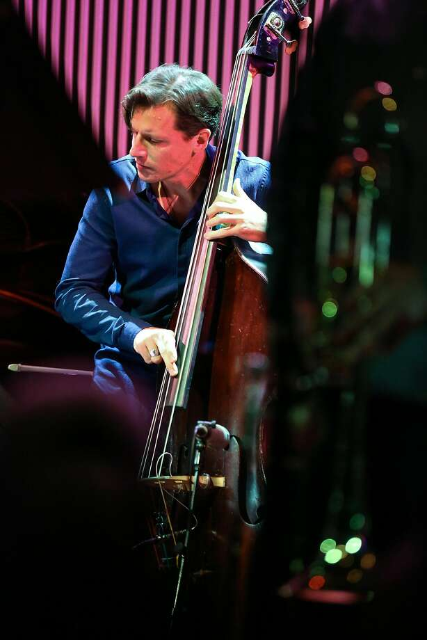 SFJazz Collective bass player Matt Penman performs. Photo: Amy Osborne, Special To The Chronicle