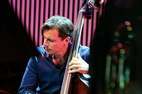 Bass player Matt Penman performs with the SF Jazz Collective at the exclusive benefit concert for the late NEA Jazz Master Bobby Hutcherson on Sunday, Oct 24, 2016 in San Francisco, Calif.