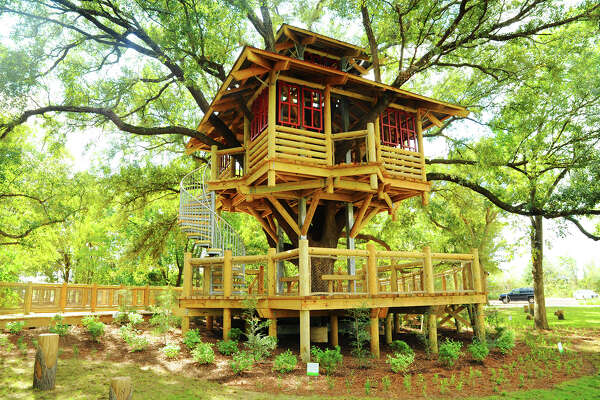 Bridgeland has added a life-size tree house to it's growing list of additions to the growing community. Bridgeland's newest amenity is located in Tree House Park and is two-stories built from reclaimed wood.