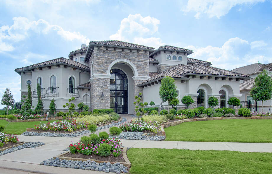 Houston's'neo-eclectic architecture' borrows architectural details from the past. Photo: Newmark Homes