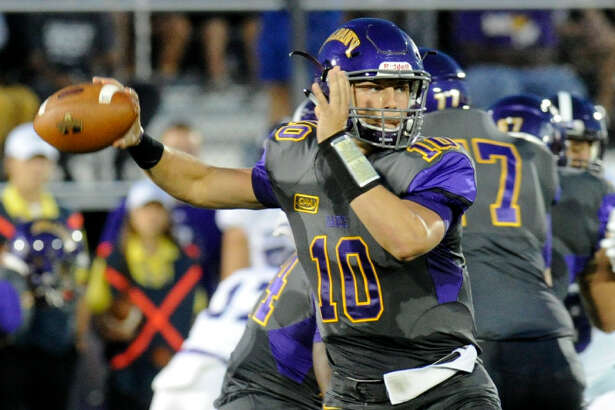 Neven Sussman has completed 36.5 percent of his passes during UAlbany's three-game losing streak. (Hans Pennink/Special to the Times Union)