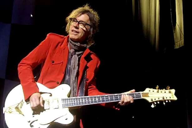 Cheap Trick performs at the Ridgefield Playhouse on Tuesday, Nov. 1. Bass guitarist Tom Petersson, a founding member of the band, is seen here.