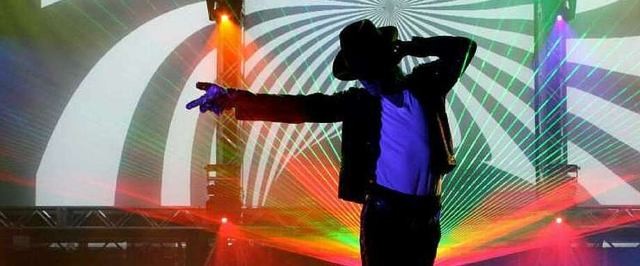 """Laser Spectacular's """"The Spirit of Michael Jackson"""" comes to the Stamford Palace on Friday, Oct. 28. Photo: Ally / Contributed Photo"""