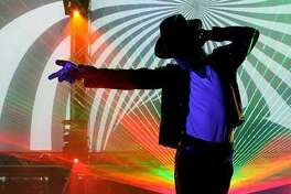 """Laser Spectacular's """"The Spirit of Michael Jackson"""" comes to the Stamford Palace on Friday, Oct. 28."""