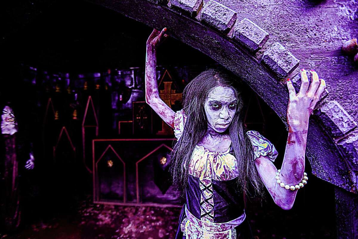 The Haunted Graveyard in Bristol is billed as the largest Halloween attraction in New England, featuring more than 200 actors. It's geared for adults and older children.