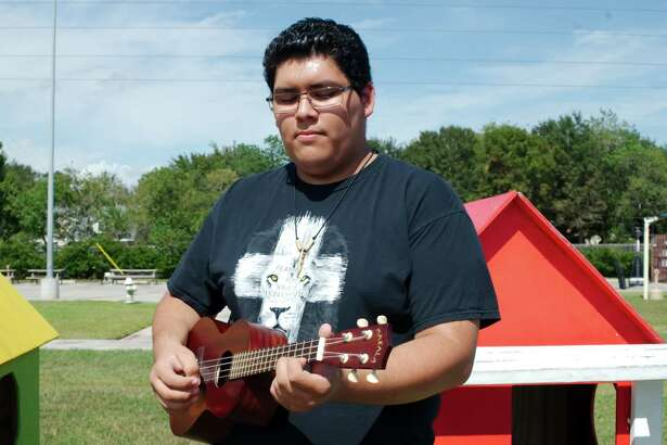 Charlie Shanta still finds solace in music after surviving a youth marked with domestic violence. Shanta credits the nonprofit Bridge Over Troubled Waters will helping him and his family move beyond that past.