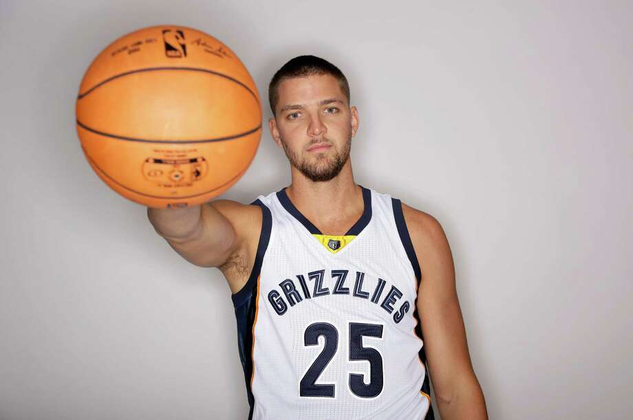 After three seasons ended or shortened with knee injuries, former Rockets forward Chandler Parsons returned to Toyota Center 20 pounds lighter than when he played in Dallas and working his way back from the bone bruise that stalled his first season with the Grizzlies. Photo: Mark Humphrey, Associated Press / AP