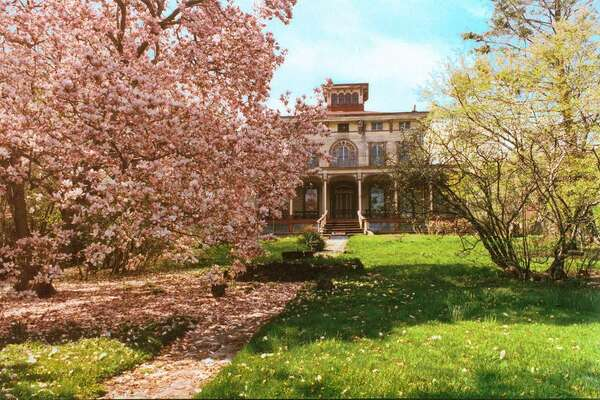 Gustav Mayer House in Staten Island, NY. 