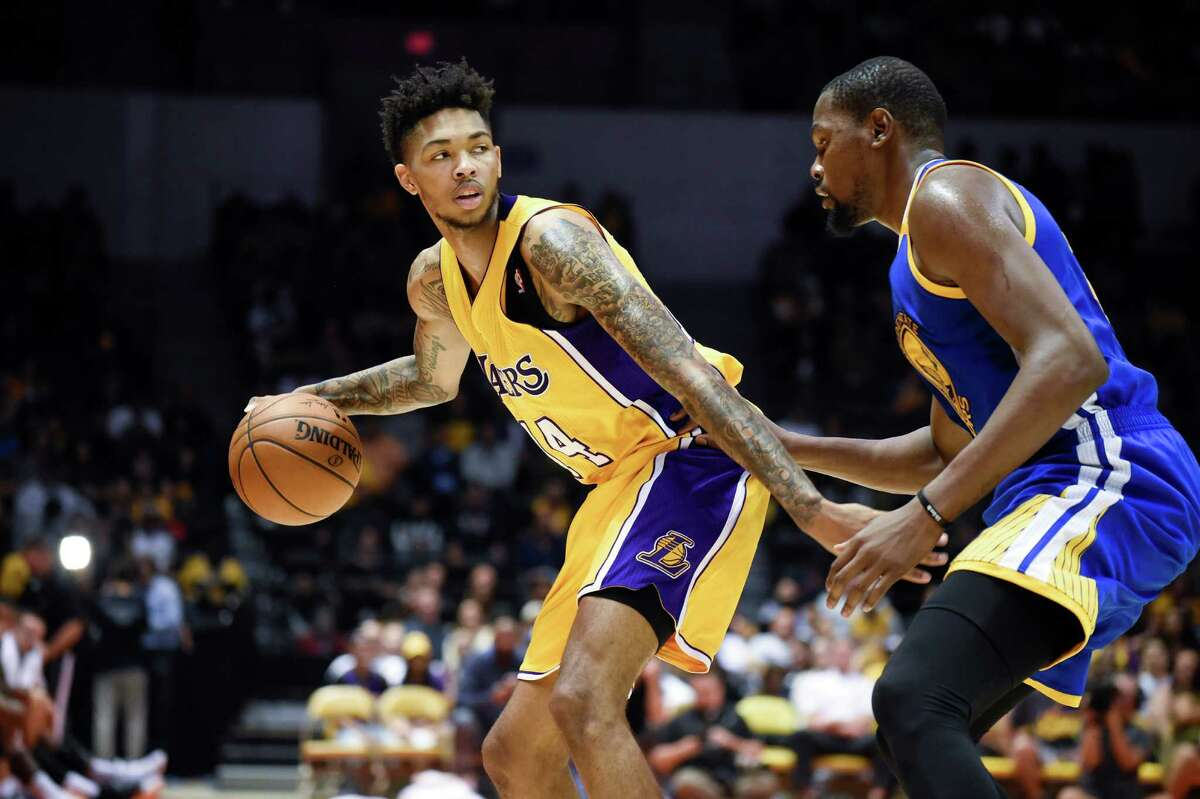 29. L.A. Lakers The Lakers have not been known for their patience and they've already spent a lot of it the past two seasons, but D'Angelo Russell and Brandon Ingram (above) should be worth the wait. Russell, Jordan Clarkson and Julius Randle will put up numbers, but the defense is still lacking.