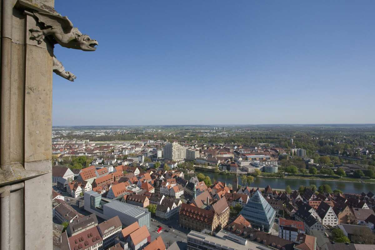 The famous gargoyles of Ulm Minster.