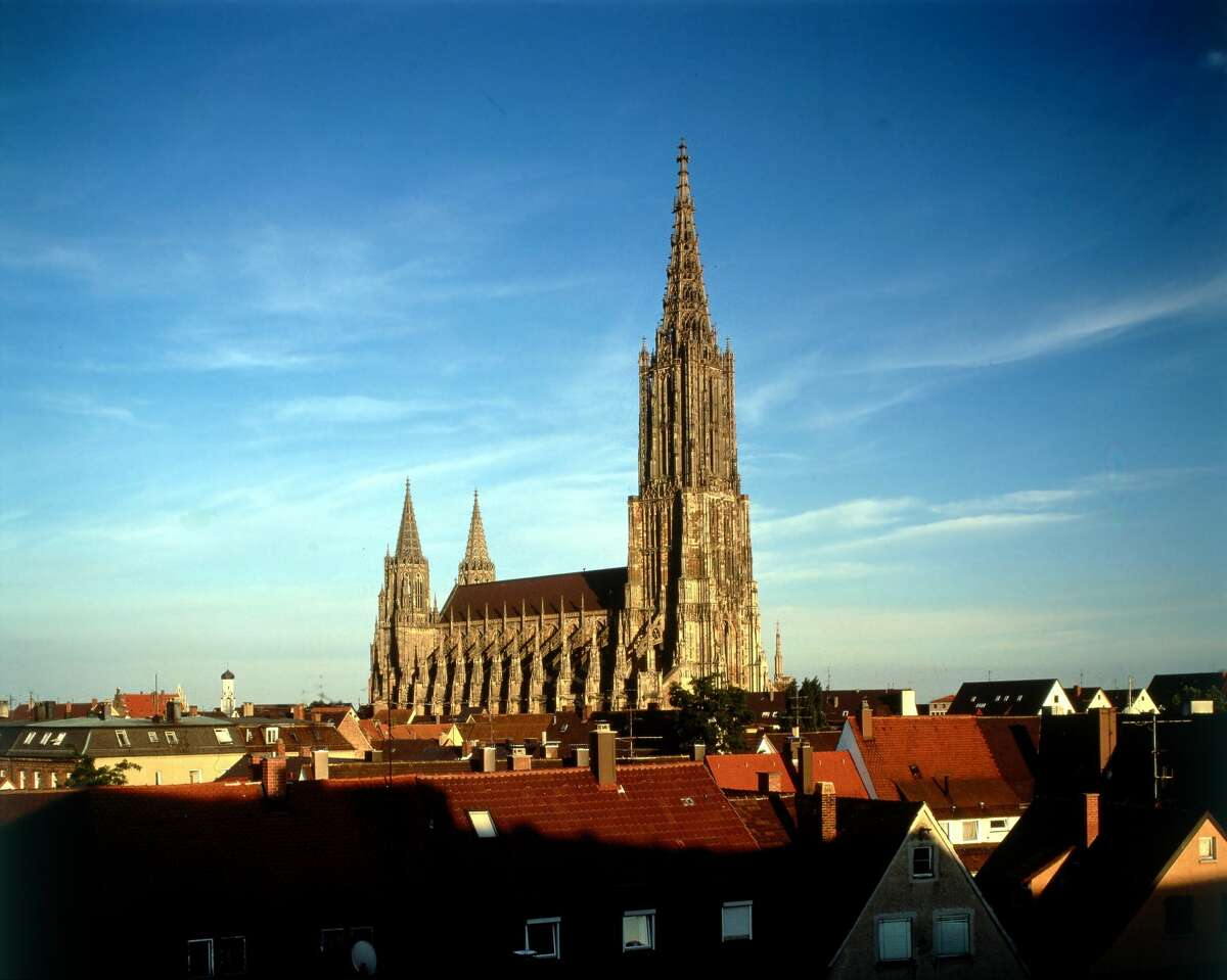 A view of Ulm Minster.