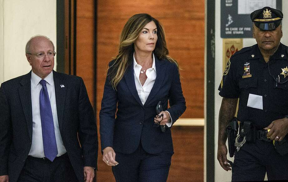 Former Attorney General Kathleen Kane arrives at court for her sentencing in Norristown, Pa. Photo: Dan Gleiter, Associated Press