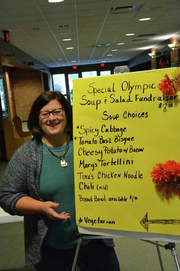 A scene from theSpecial Olympics Soup and Salad Fundraiser in October 2016. Photo: Photo Provided