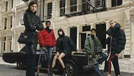 "The merged luxury group Yoox Net-A-Porter Group is aiming to be as mobile as its shoppers. CEO Federico Marchetti is investing in new technology and adding services such as same-day delivery in new markets like Dubai. He says he wants to transform the online company into a mobile-only venture. Shown is an image from Net-A-Porter's ""Sporty Jacket"" campaign."