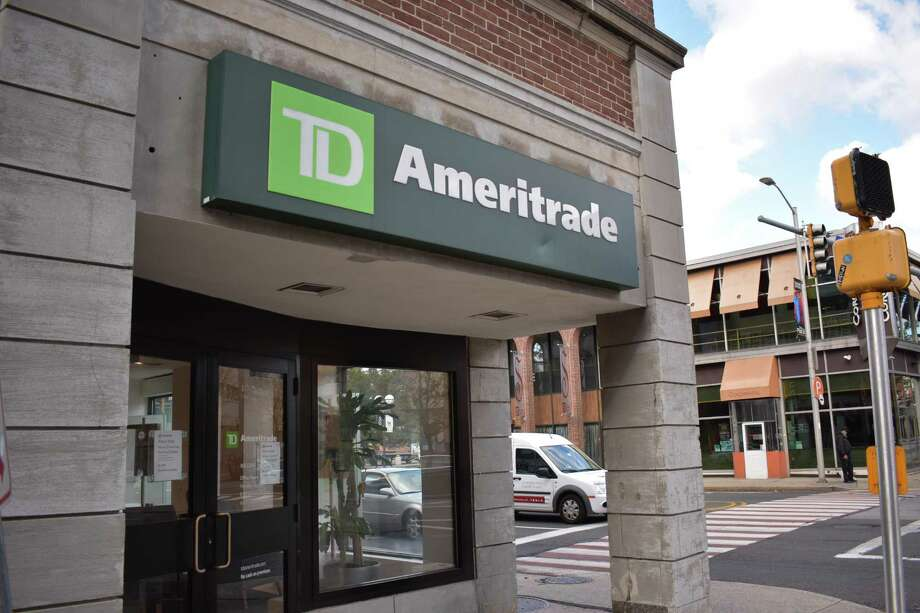TD Ameritrade's lone southwestern Connecticut branch at 69 Broad St. in Stamford on Oct. 24, 2016, when the company announced a proposed $4 billion acquisition of Scottrade which has a branch a few blocks distant. Photo: Alexander Soule / Hearst Connecticut Media / Stamford Advocate