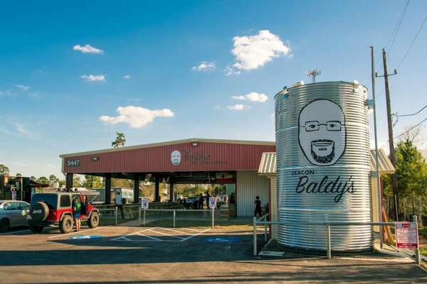 Deacon Baldy's is a new food truck park that debuted last week just northeast of The Woodlands.