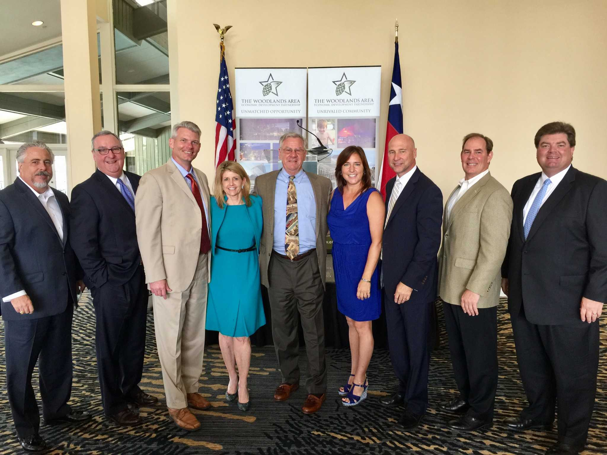 The Woodlands EDP hosts quarterly luncheon - San Antonio