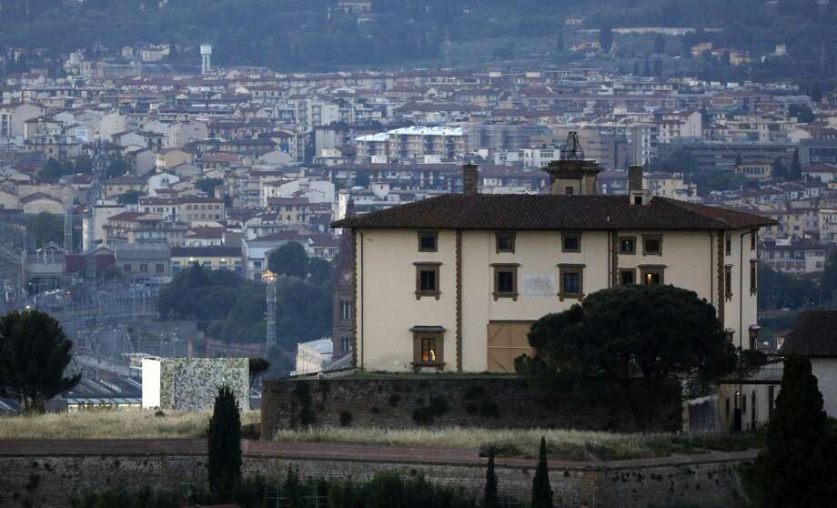 "A view of the Forte Belvedere in Florence, Italy, on Saturday. Kim Kardashian and Kanye West are officially ""Bound"" to each other. The celebrity couple, who have made a habit of over-the-top, public displays of affection, got hitched Saturday in a decidedly private spot: a Renaissance fortress in Florence.(AP Photo/Gregorio Borgia)"