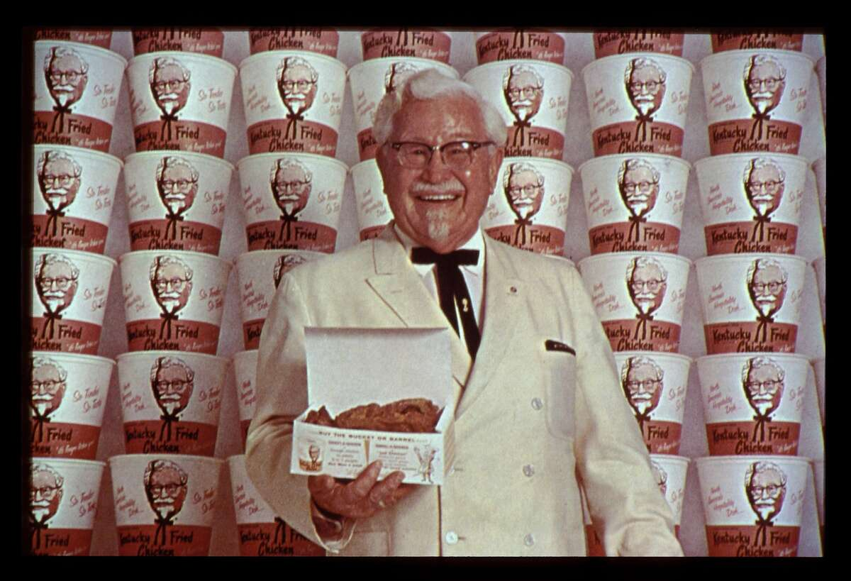 Colonel Harland D. Sanders of Kentucky Fried Chicken