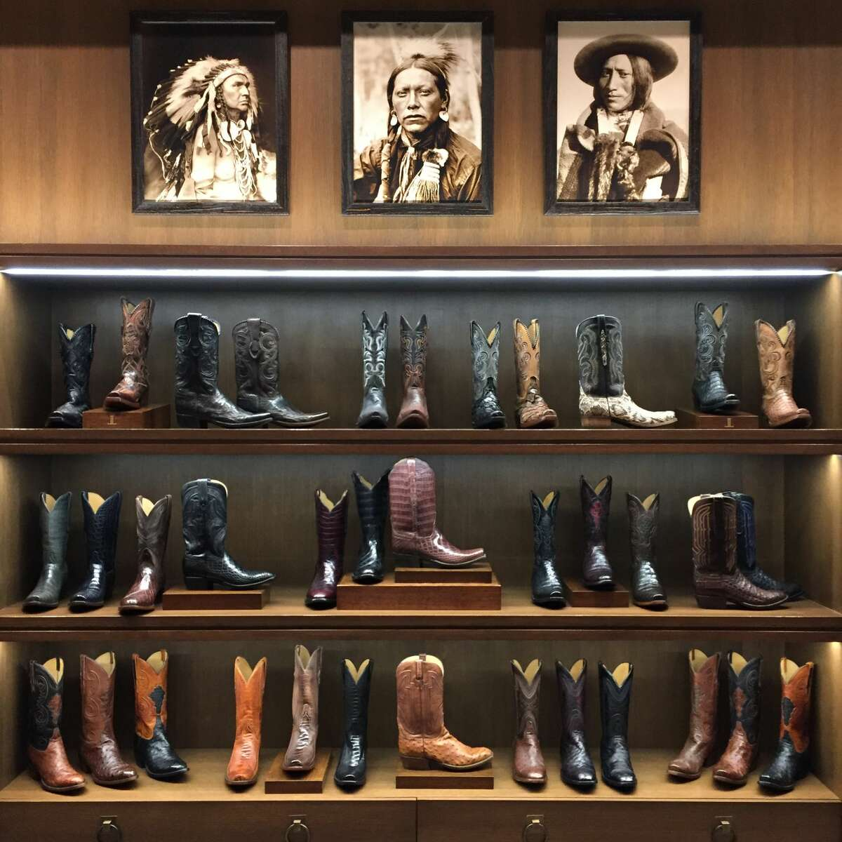 PHOTOS: The story of Lucchese boots, a true Texas original Lucchese is one of the most iconic brands to come out of Texas since Sam Houston and the boys laid the smack down on Santa Ana's cronies at San Jacinto in 1836. Learn more about the brand...