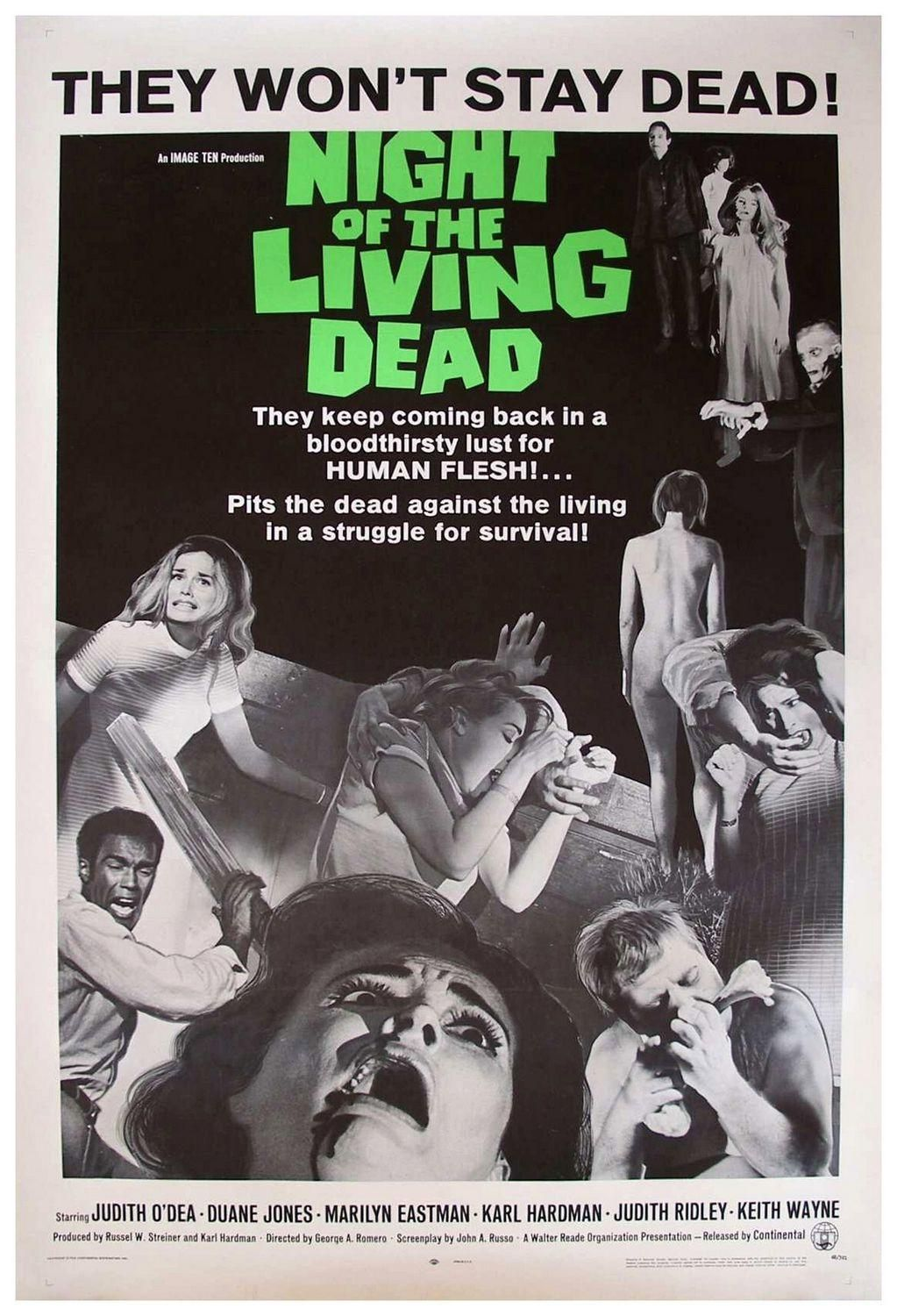 """analyzing the shining and night of the living dead """"they're dead they'reall messed up"""" — sheriff mcclelland, night of the living dead before filming could begin, image ten looked to cast the core characters caught up in the zombie menace most crucial was the lead, ben, who would have to carry mu."""