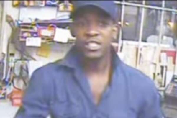 The Harris County Sheriff's Office is searching for two male suspects who are accused of pistol-whipping a Bestop groceries employee in north Houston on Oct. 24, 2016.