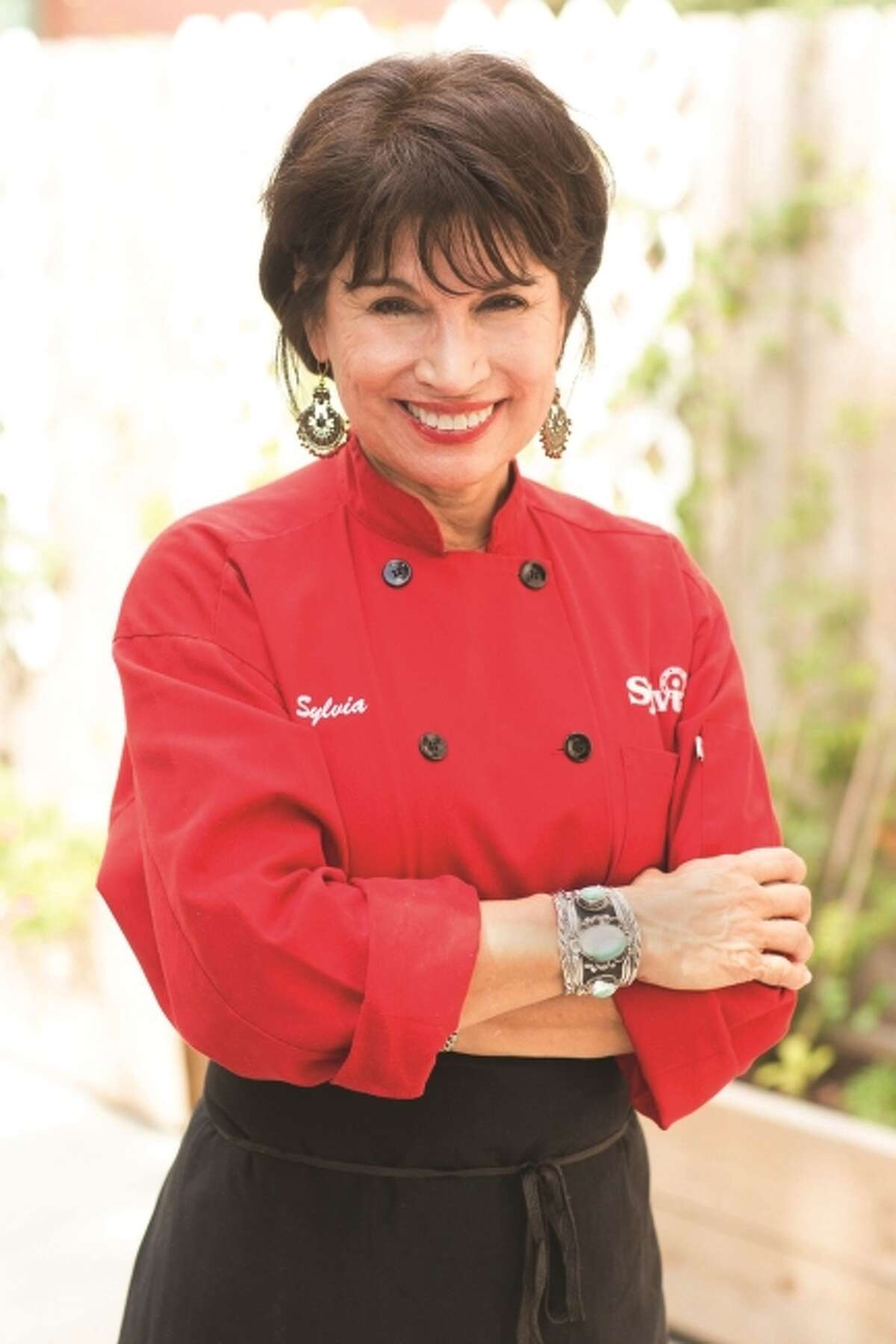 """Sylvia Casares' 2016 cookbook, """"The Enchilada Queen Cookbook"""" was named best cookbook at the 2017 International Latino Book Awards."""