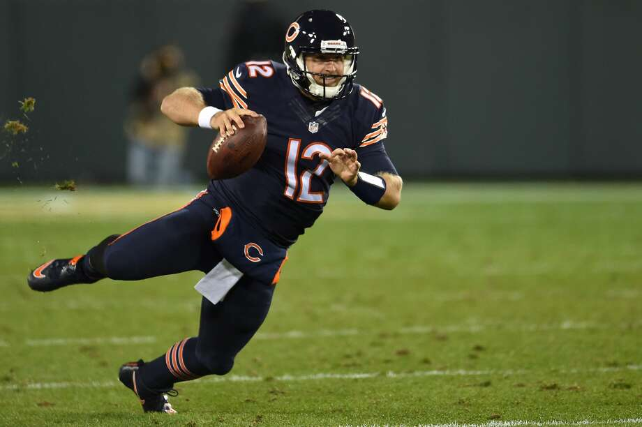 32. Chicago Bears(1-6):After Brian Hoyer was knocked out of Thursday night's 26-10 loss to the Packers with an arm injury, the Bears were forced to go with Matt Barkley at quarterback.Last week: 30 Photo: Stacy Revere/Getty Images