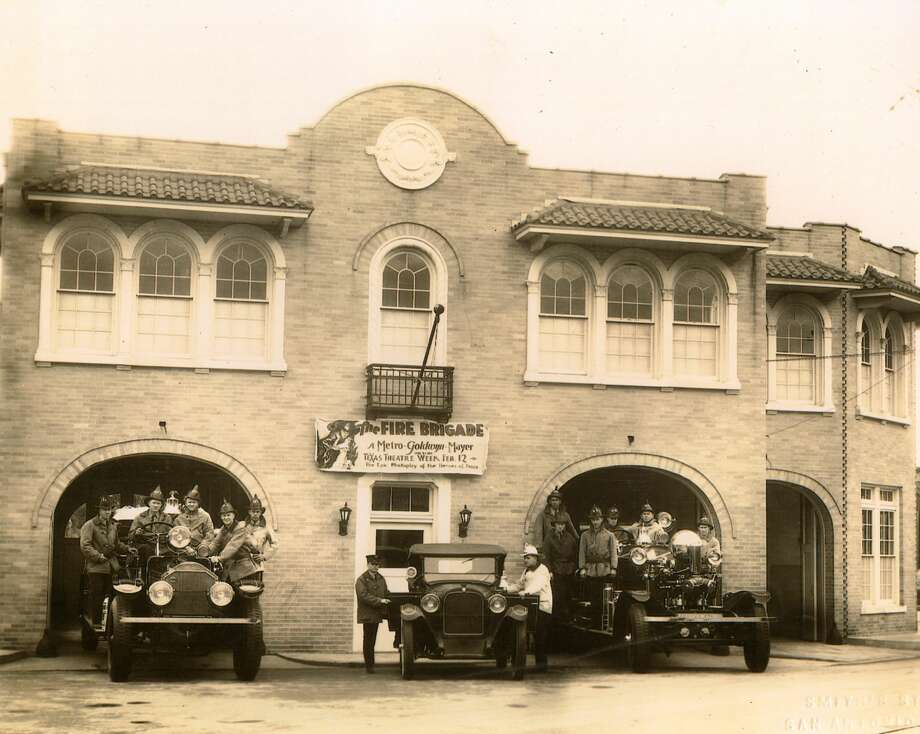 Fire Station No. 7 in 1926. Photo: San Antonio Fire Museum/Courtesy Photo