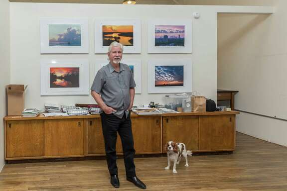 October 21 2016:  Jim Olive, owner of Stockyard Photos located n Houston, Texas.  (Leslie Plaza Johnson/Chronicle)