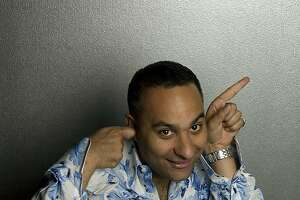 comedian Russell Peters photo by: Dan Dion