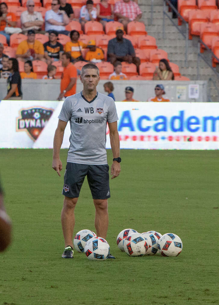 The ball is in the Dynamo's court when it comes to the decision on elevating interim coach Wade Barrett to full-time status, one of many decisions the club faces after the worst season in its 11 years in Houston.