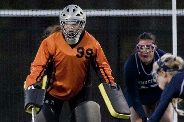 Immaculate High School field hockey vs Joel Barlow High School, played at Barlow. Monday, Oct. 24, 2016
