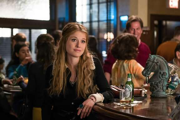 Genevieve Angelson portrays passionate and ambitious newsroom dynamo Patti Robinson, one of a group of female journalists who battle sex discrimination at fictional magazine News of the Week, in Amazon Prime's 'Good Girls Revolt,' a drama set in the revolutionary decade of the '70s.