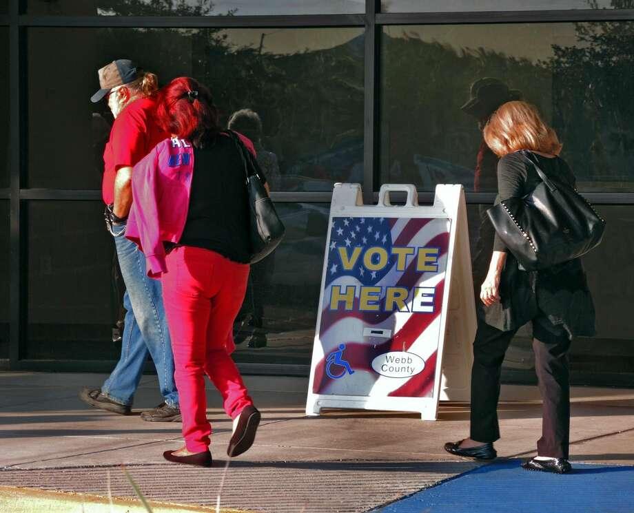 El martes es el día de elecciones en el Condado de Webb. (Foto por Cuate Santos/archivo/LMT)