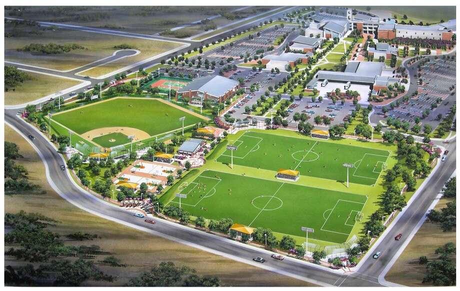 Vista del Centro de Recreación del Laredo Community College, Campus del Sur. LCC-South estará celebrando su Décimo Aniversario, el sábado. (Imagen de archivo/SAEN/LMT)