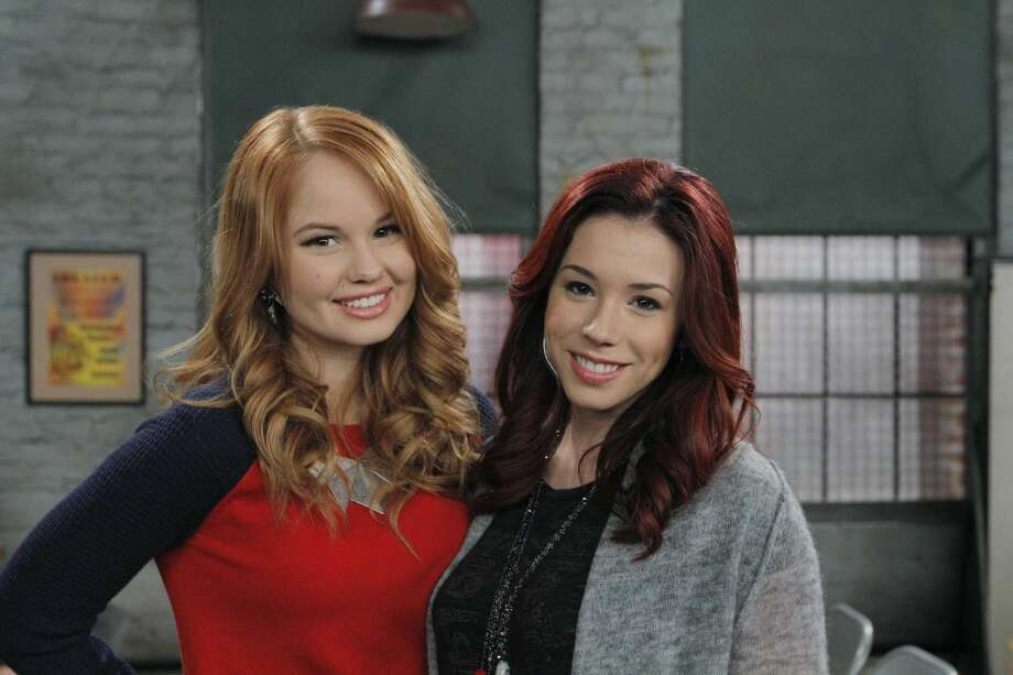 """This photo released by Disney Channel shows Debby Ryan, left, and Jillian Rose Reed, in """"Acting With the Frenemy,"""" a new episode of """"Jessie,"""" airing on Friday, April 27, 2014, (7:30 PM - 8:00 PM ET/PT), on the Disney Channel. The title character of Disney Channel's """"Jessie,"""" starring Ryan, becomes engaged in a four-episode arc that will conclude the season this fall. (AP Photo/Disney Channel, Tony Rivetti)"""