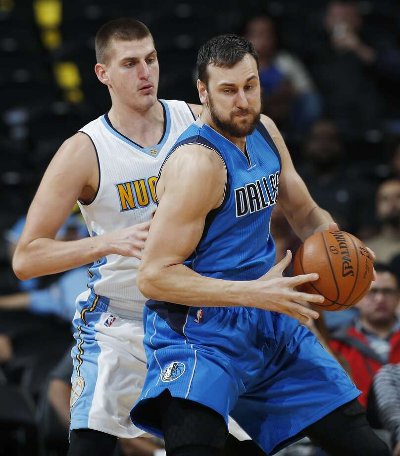 Dallas center Andrew Bogut, who spent four seasons with the Warriors, is an Australian who admitted that he couldn't really identify with the plight of his African American teammates. Photo: David Zalubowski, Associated Press