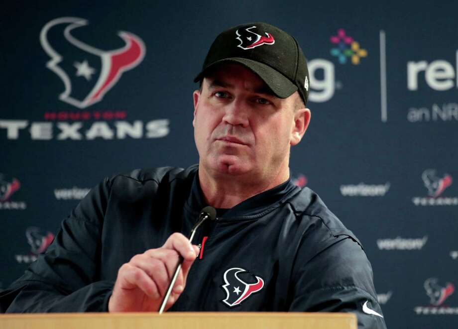 Houston Texans head coach Bill O'Brien speaks after an NFL football game against the Denver Broncos, Monday, Oct. 24, 2016, in Denver. The Broncos won 27-9. (AP Photo/Joe Mahoney) Photo: Joe Mahoney, Associated Press / FR170458 AP