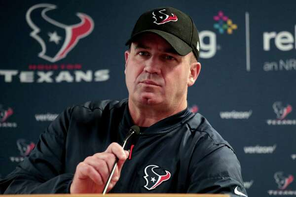 Houston Texans head coach Bill O'Brien speaks after an NFL football game against the Denver Broncos, Monday, Oct. 24, 2016, in Denver. The Broncos won 27-9. (AP Photo/Joe Mahoney)