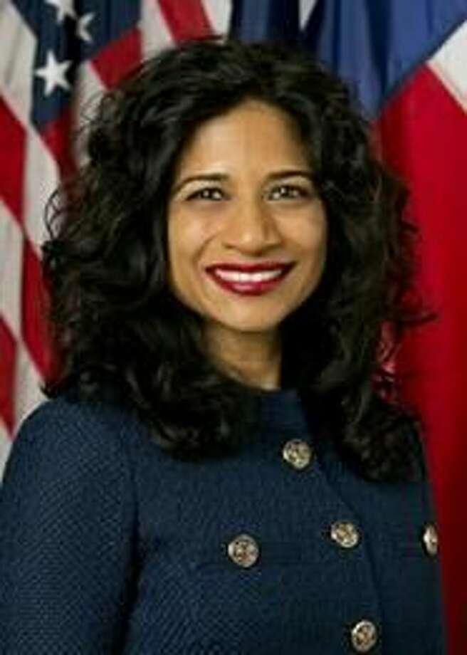 Secretaria de Estado, Nandita Berry. (Foto de cortesía)
