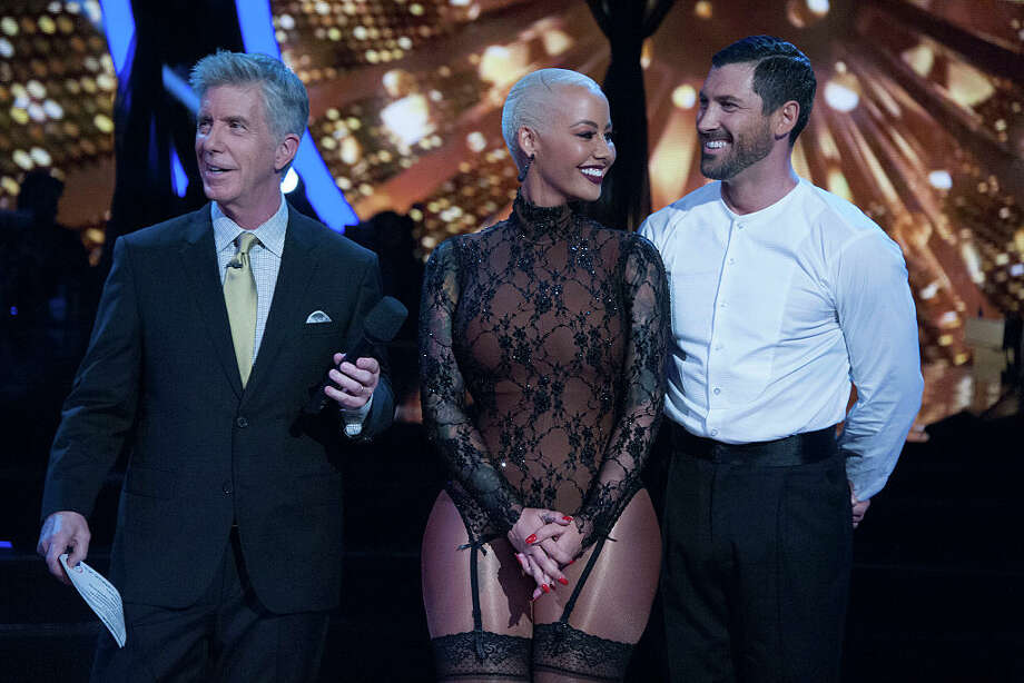 entertainment celebrities article amber rose allegedly dating maksim chmerkovskiy