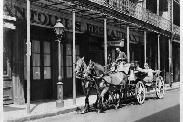 "Antoine's     Established in New Orleans in 1840, Antoine's (pictured here circa 1900) is now the oldest family-run restaurant in the country. It ""represents the most flourishing remnant of American regional cuisine,"" Freedman says. It's ""French in how it presents itself, but not really French comme en France."" -  Town & Country"