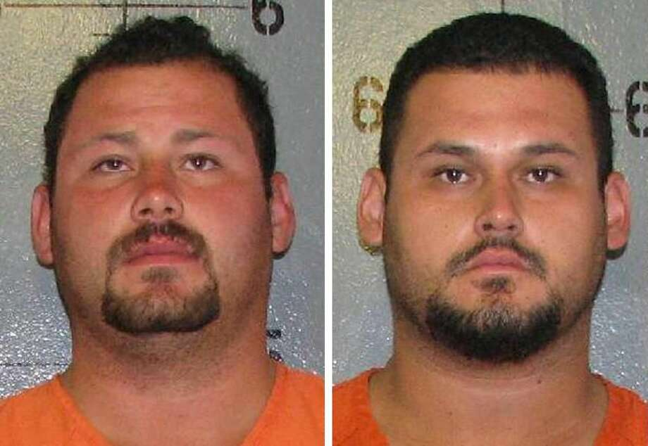 Courtesy photosNelson Morales, left, and his brother Severo Morales, right, face murder charges in connection to a 1998 drive-by shooting in Houston that left one person dead and three injured. The brothers were arrested in Laredo today.