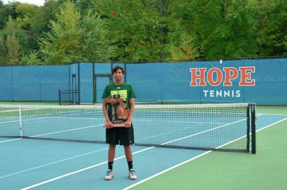 Senior Varun Shanker put an exclamation point on his four-year Dow High tennis career this past weekend, being named Mr. Tennis as the best senior player across all divisions in the state by the Michigan High School Tennis Coaches Association.