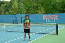 Senior Varun Shanker put an exclamation point on his four-year Dow High tennis career this past weekend, being named Mr. Tennis as the best senior player across all divisions in the state by the Michigan High School Tennis Coaches Association .