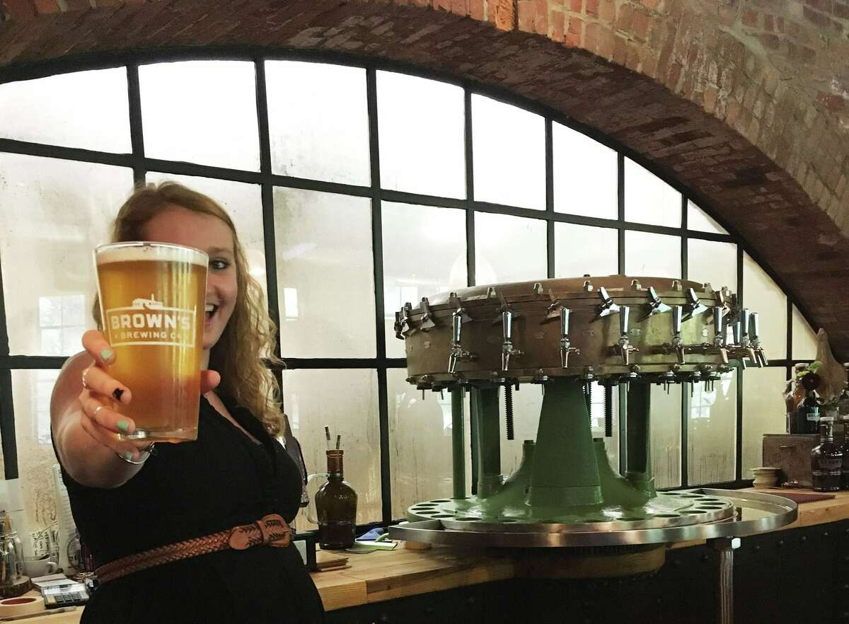 Best local brewery: No. 2: Brown's Brewing Company