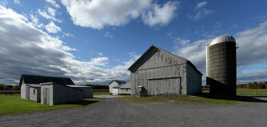 Exterior view of the Pitney Meadows Community Farm Monday Oct. 24, 2016 in Saratoga Springs, N.Y. (Skip Dickstein/Times Union) Photo: SKIP DICKSTEIN / 20038520A