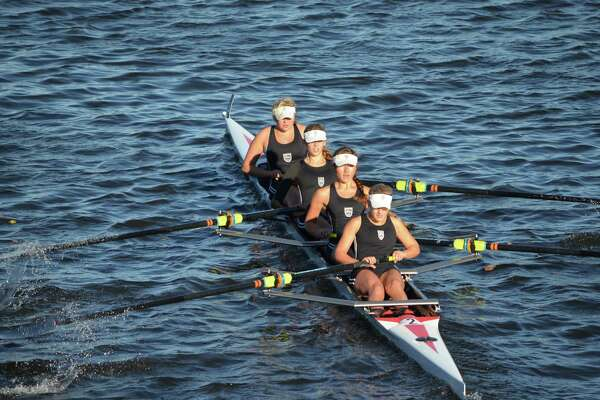 Saugatuck Rowing Club's women's youth 4+ crew finished second out of 85 boats at the Head of the Charles Regatta.