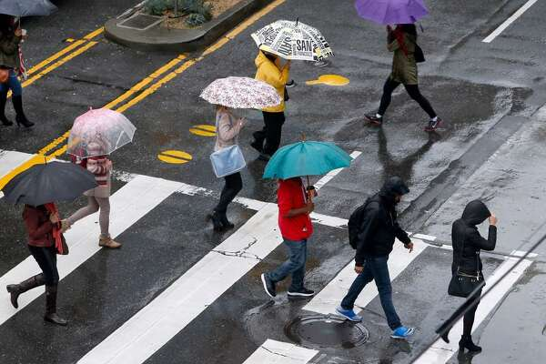 Rain expected in San Francisco and surrounding areas of the Bay Area throughout Halloween weekend, forecasters said.